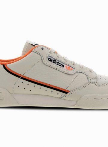adidas Originals Continental 80 в новой бежево-оранжевой расцветке