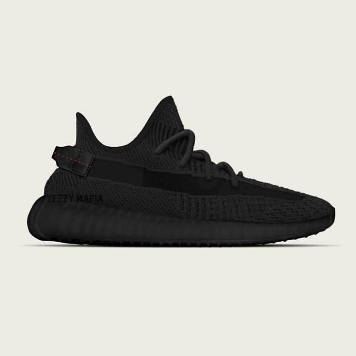 adidas Yeezy Boost 350 V2 «Black» - подробности предстоящего релиза