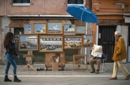 Бэнкси без разрешения поучаствовал в Венецианской биеннале
