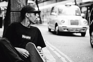 Люсьен Кларк - воплощение союза скейтборда, искусства и культуры