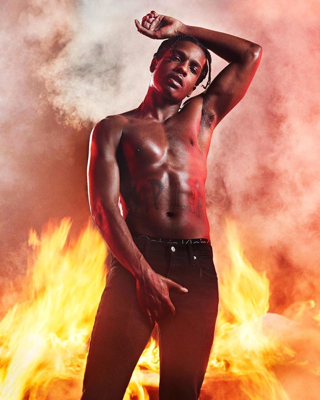 ASAP Rocky для Calvin Klein