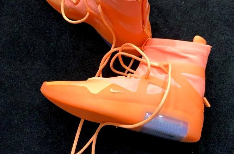Nike Air Fear Of God 1 «Orange Pulse» - первые подробности релиза