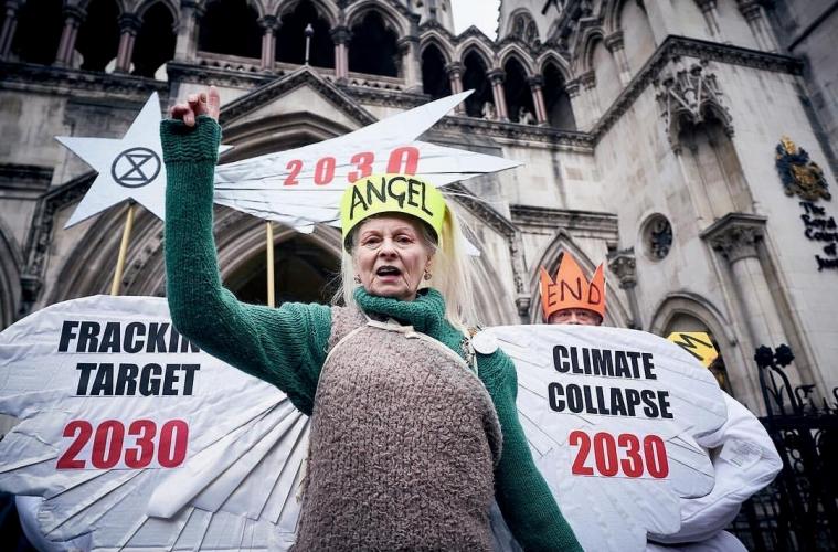 Вивьен Вествуд и глава Гринпис обсудили экологические проблемы