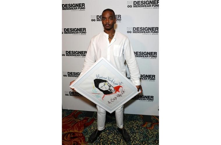 Сэмюэл Росс получил премию BFC/GQ Designer Menswear Fund