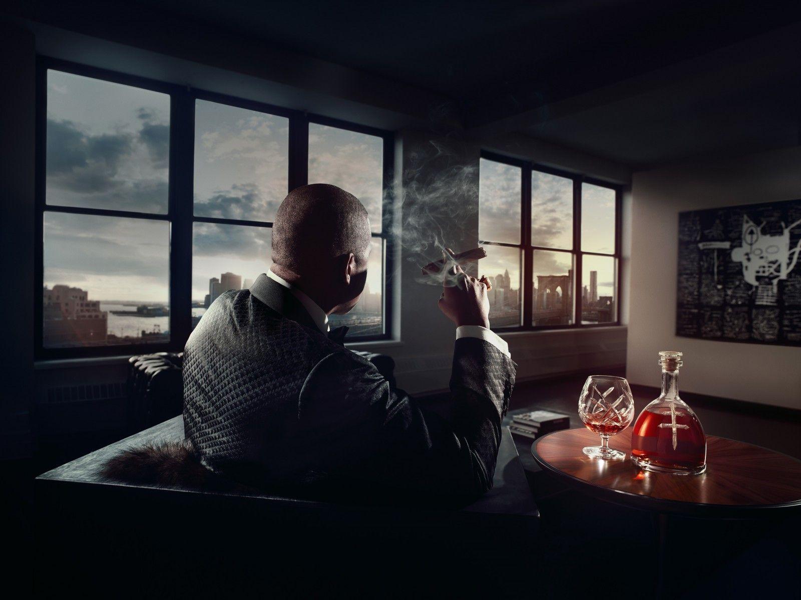 Jay-Z в рекламной кампании D'Ussé