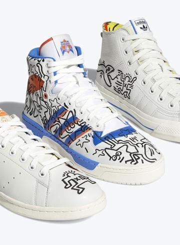 Keith Haring x adidas Originals выйдут в рамках месяца прайда