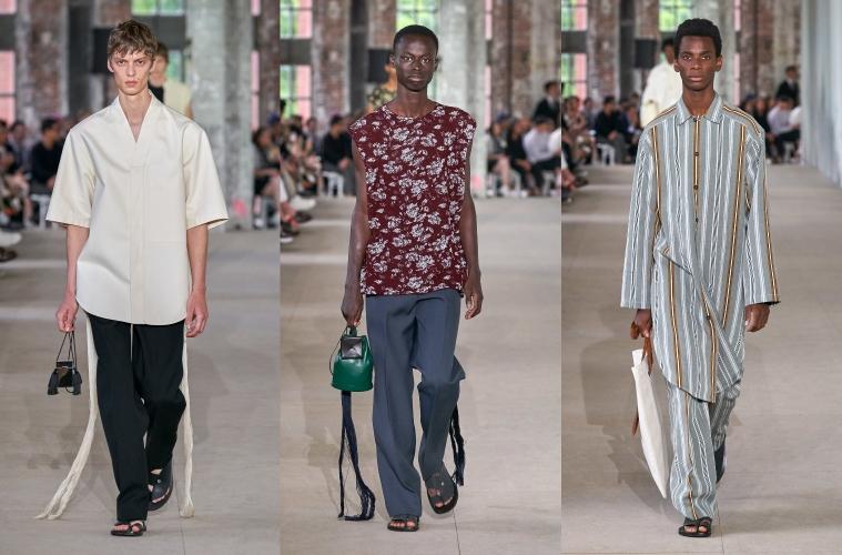 Jil Sander Spring/Summer 2020 Menswear - обзор коллекции