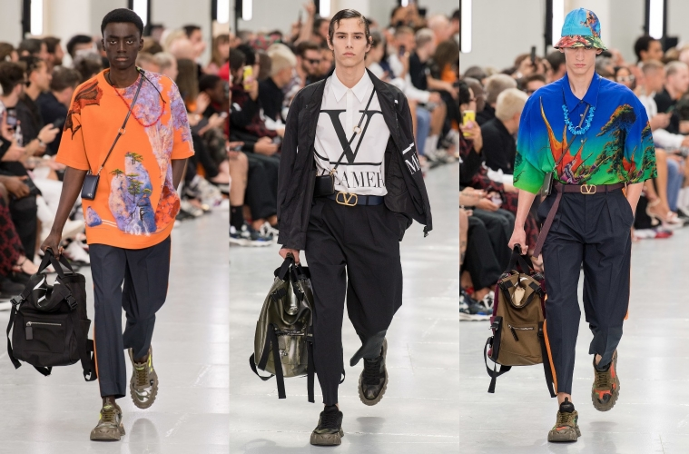 Valentino Spring/Summer 2020 Menswear - обзор мужской коллекции