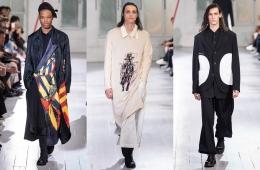 Yohji Yamamoto Spring/Summer 2020 Menswear -обзор новой коллекции