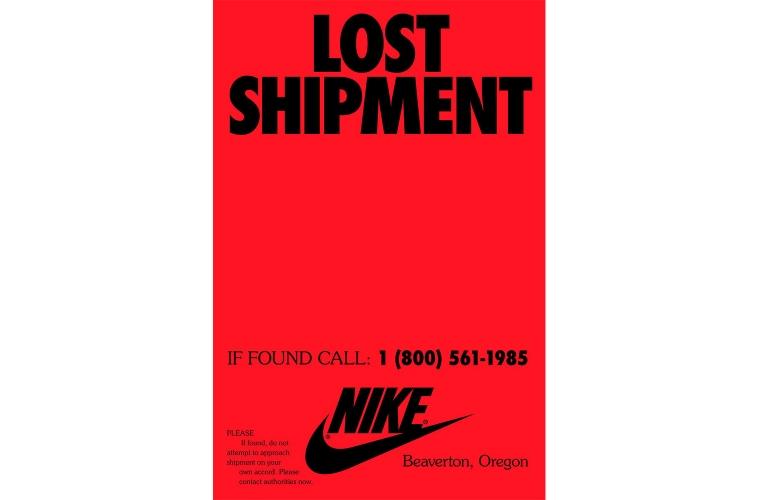 Nike «Lost Shipment» – новая загадочная реклама спортивного бренда