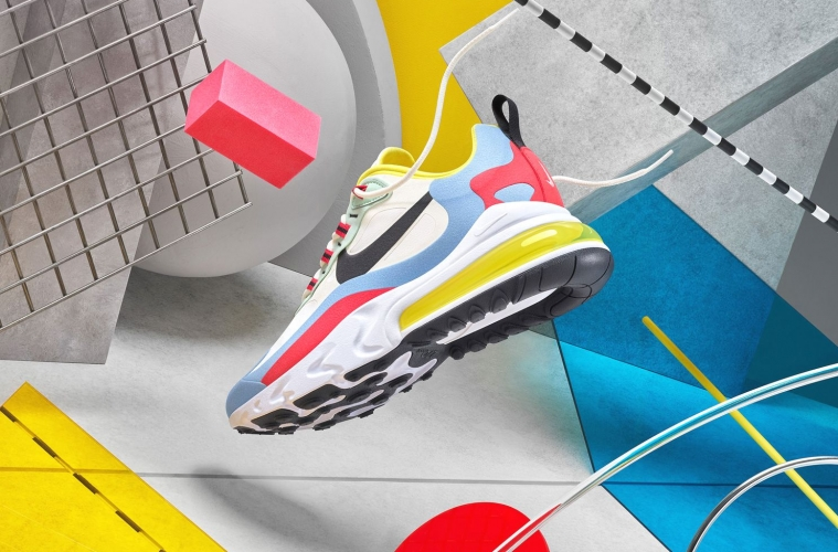 Nike Air Max 270 React - Nike представил лукбук нового силуэта