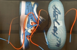 Off-White x Nike SB Dunk Low White/Blue
