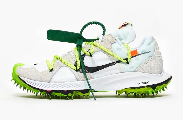 Off-White x Nike Zoom Terra Kiger 5 White - все о релизе светлой версии