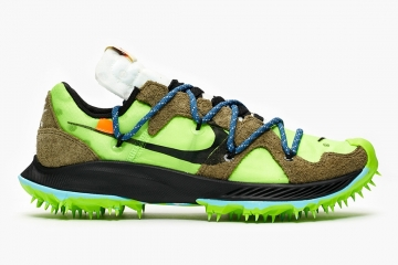 Off-White x Nike Zoom Terra Kiger 5 Green — подробности релиза
