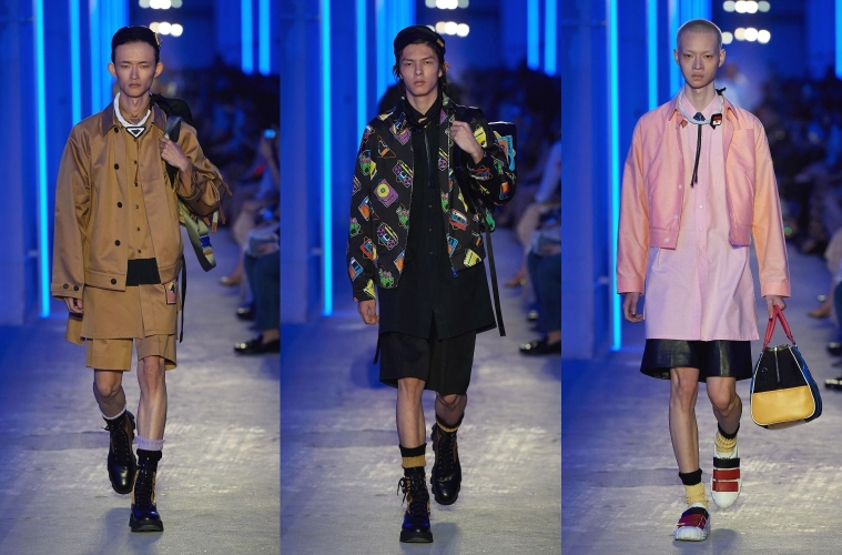 Prada SpringSummer 2020 Menswear - обзор мужской коллекции