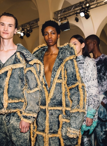 Стерлинг Руби дебютировал на мужской Неделе моды