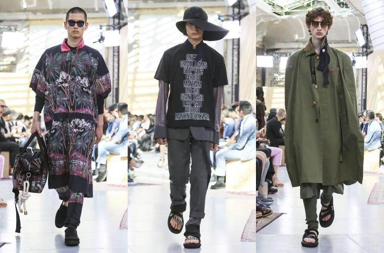sacai Spring/Summer 2020 Menswear - обзор новой коллекции