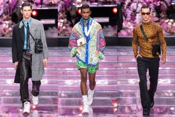 Versace Spring/Summer 2020 Menswear — обзор мужской коллекции
