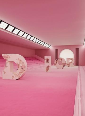 Дэниел Аршам рассказал о создании декораций для показа Dior