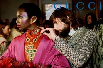 Новая кампания Gucci рассказывает о зарождении и эволюции моды