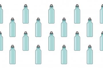 Многоразовые бутылки для воды как главный аксессуар 2019 года
