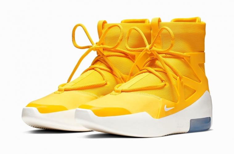 Nike Air Fear Of God 1 «Amarillo» - подробности новой расцветки