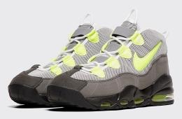 Новые Nike Air Max Uptempo «Neon» в культовой расцветке