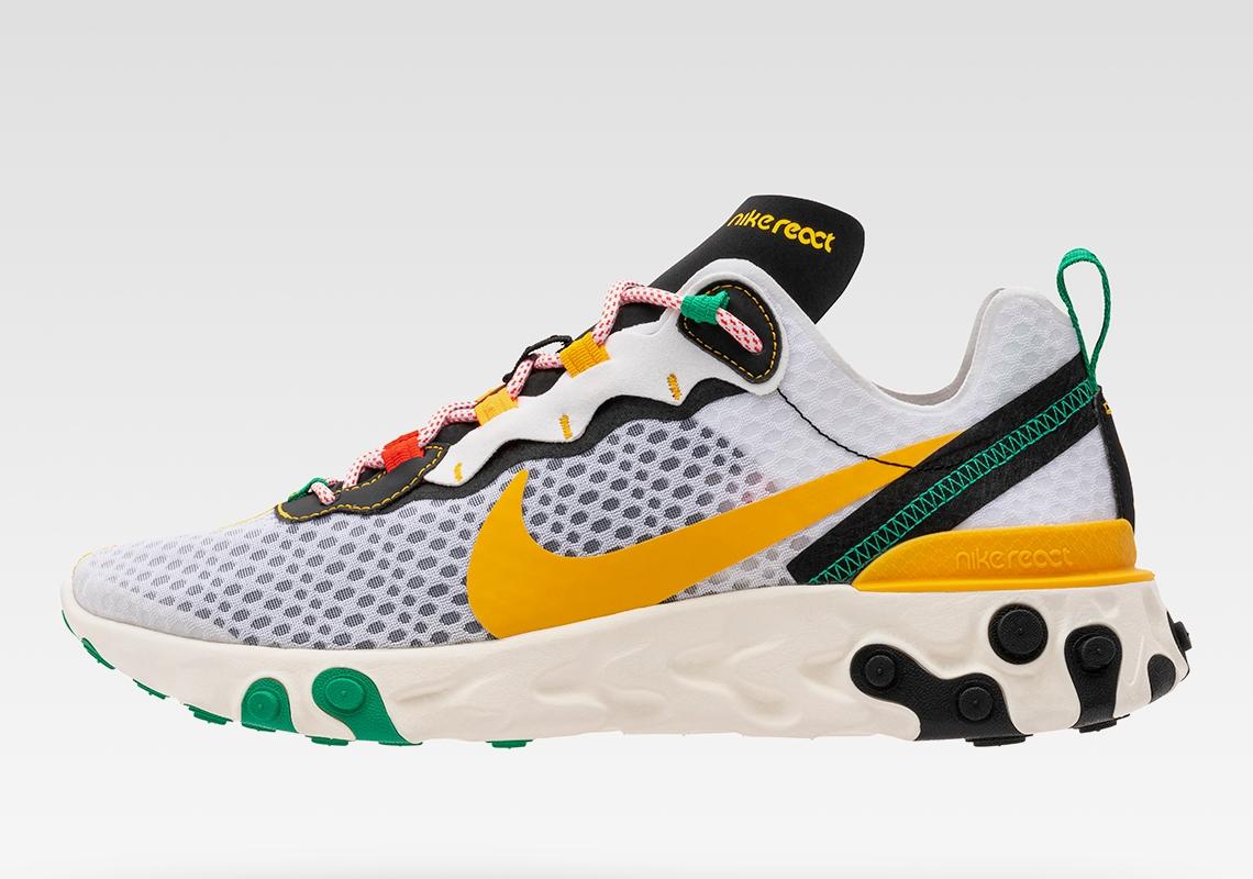 Nike Sunburst Pack React Element 55