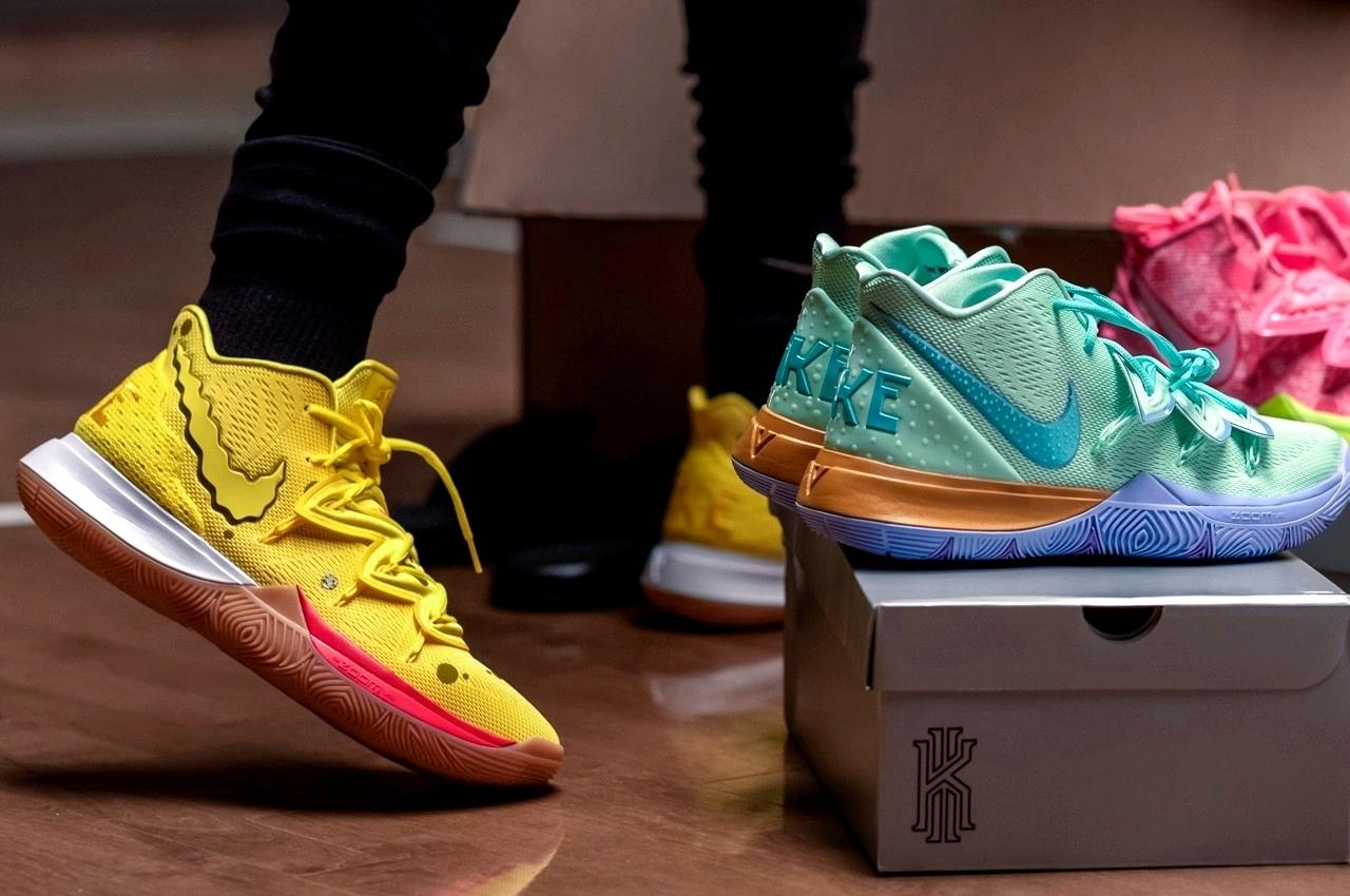 SpongeBob SquarePants x Nike Kyrie