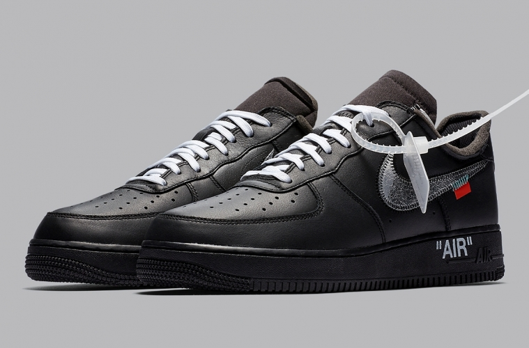 Повторный релиз Off-White x Nike Air Force 1 MoMA