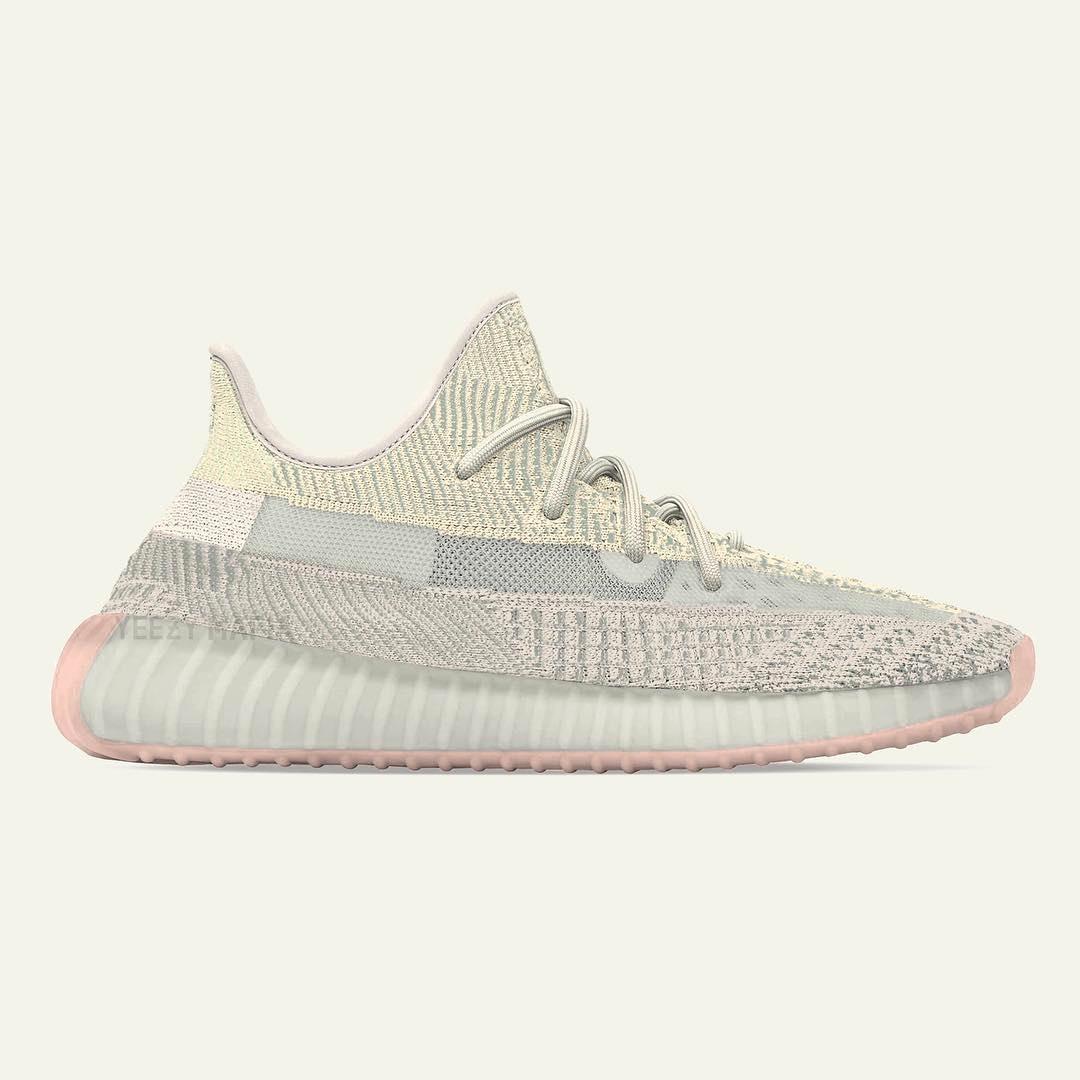 adidas Yeezy Boost 350 V2 «Citrin» выйдут в сентябре 2019 года