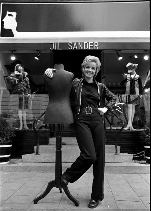 Жиль Сандер — основательница модного дома Jil Sander