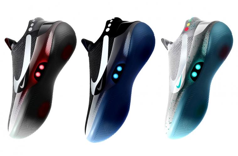 Nike Adapt BB c автоматической шнуровкой выйдут в трех расцветках
