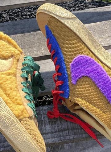 Nike Blazer By You «Sponge» – все подробности нового проекта