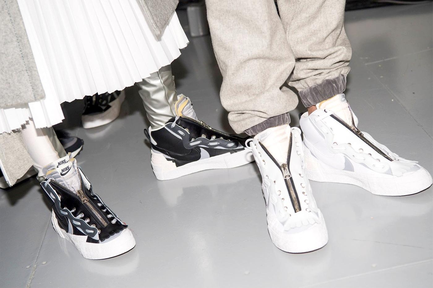 sacai x Nike Blazer Mid Fall/Winter 2019