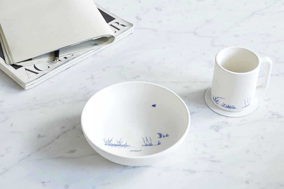 Off-White «HOME» – бренд представил свою первую коллекцию товаров для дома