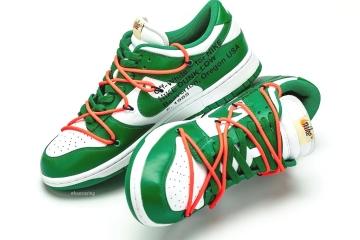 Off-White x Nike Dunk Low «Pine Green» поступят в продажу осенью