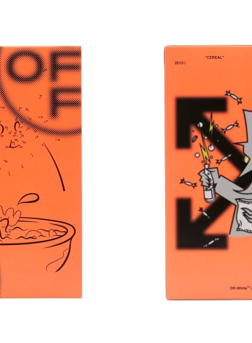 "Подробности коллаборации fragment design x Off-White ""Cereal"""
