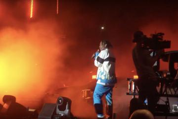 Смотрите первое выступление A$AP Rocky после освобождения