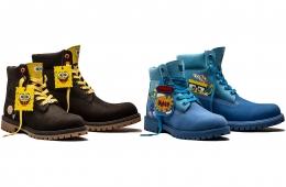 SpongeBob x Timberland – все о предстоящей коллаборации