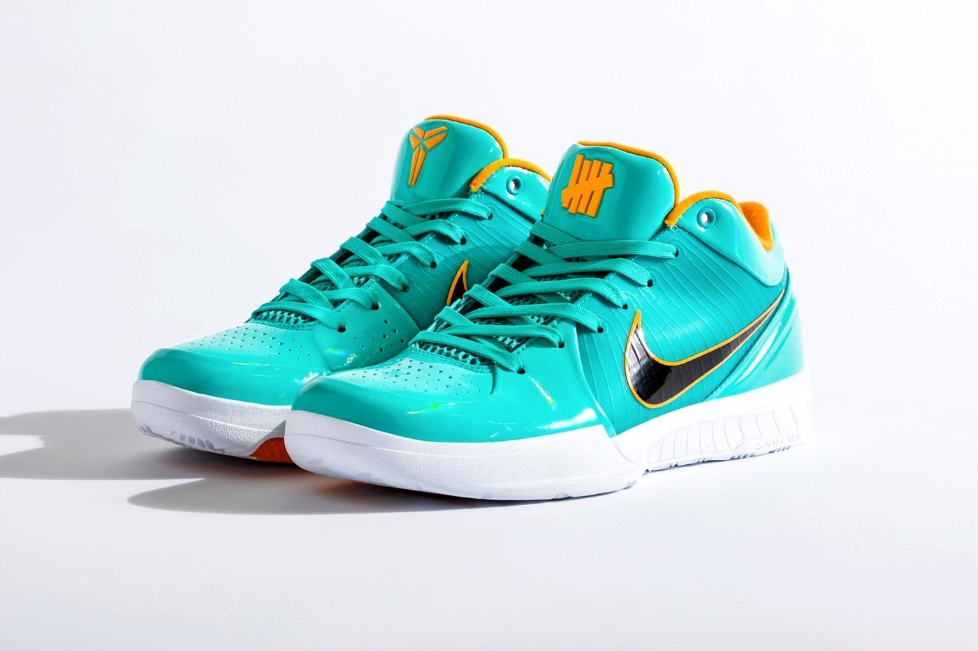 UNDEFEATED x Nike Kobe 4 Protro «HYPER JADE»