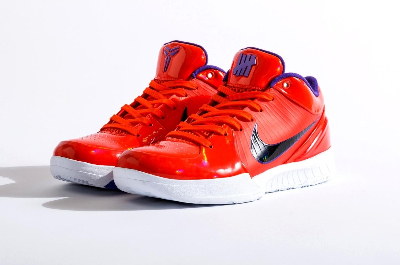 UNDEFEATED x Nike Kobe 4 Protro «TEAM ORANGE»