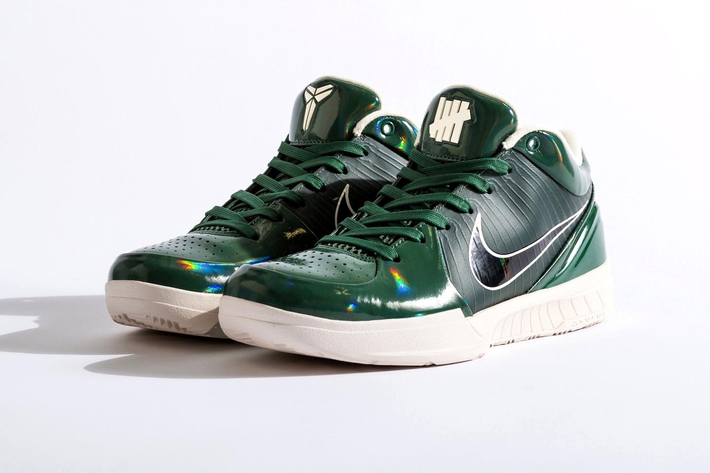 UNDEFEATED x Nike Kobe 4 Protro «FIR»