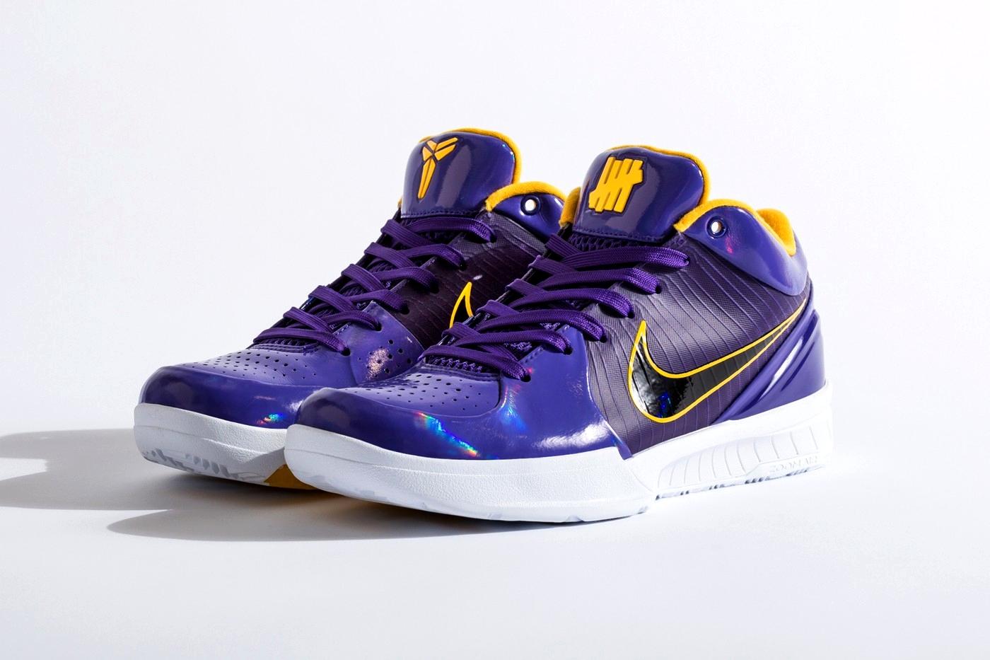 UNDEFEATED x Nike Kobe 4 Protro «COURT PURPLE»