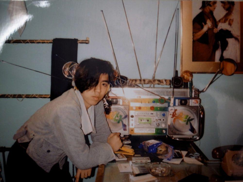 Хироши Фудзивара в молодости