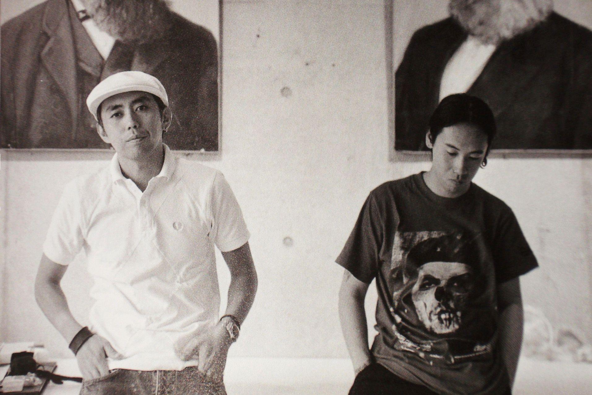 Хироши Фудзивара и Джун Такахаши
