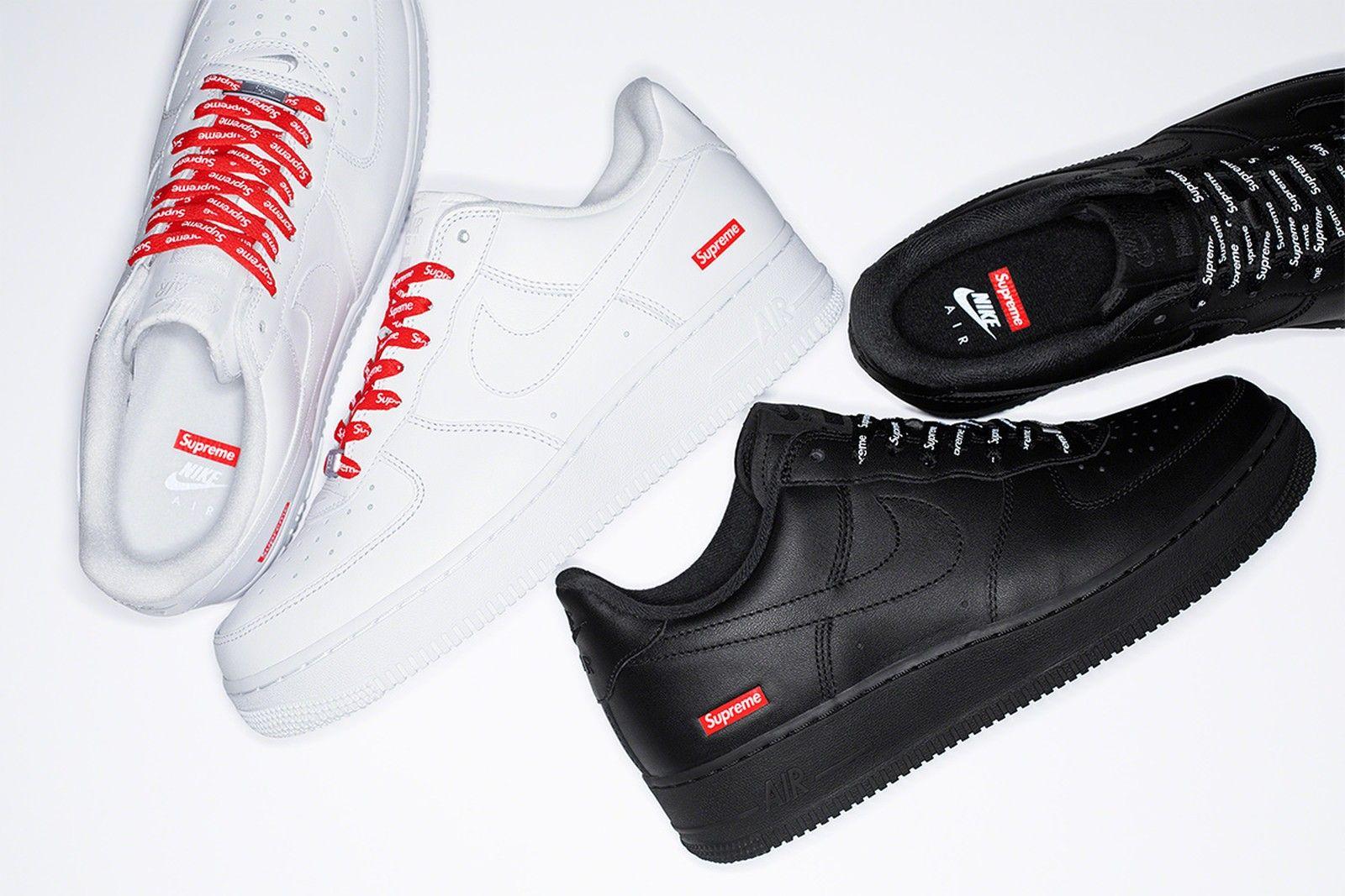 2020: Supreme x Nike Air Force 1 Low