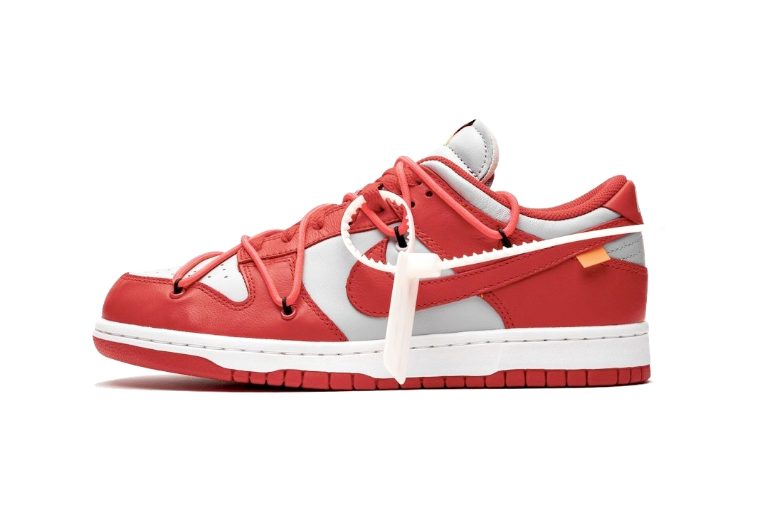 Off-White x Nike Dunk Low «University Red»