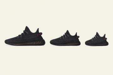 "Дата повторного релиза adidas Yeezy Boost 350 V2 ""Black"""