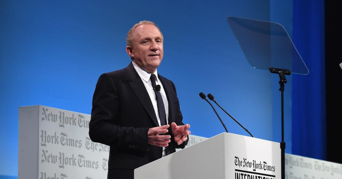 Франсуа-Анри Пино Kering станут углеродно нейтральными молодежный центр